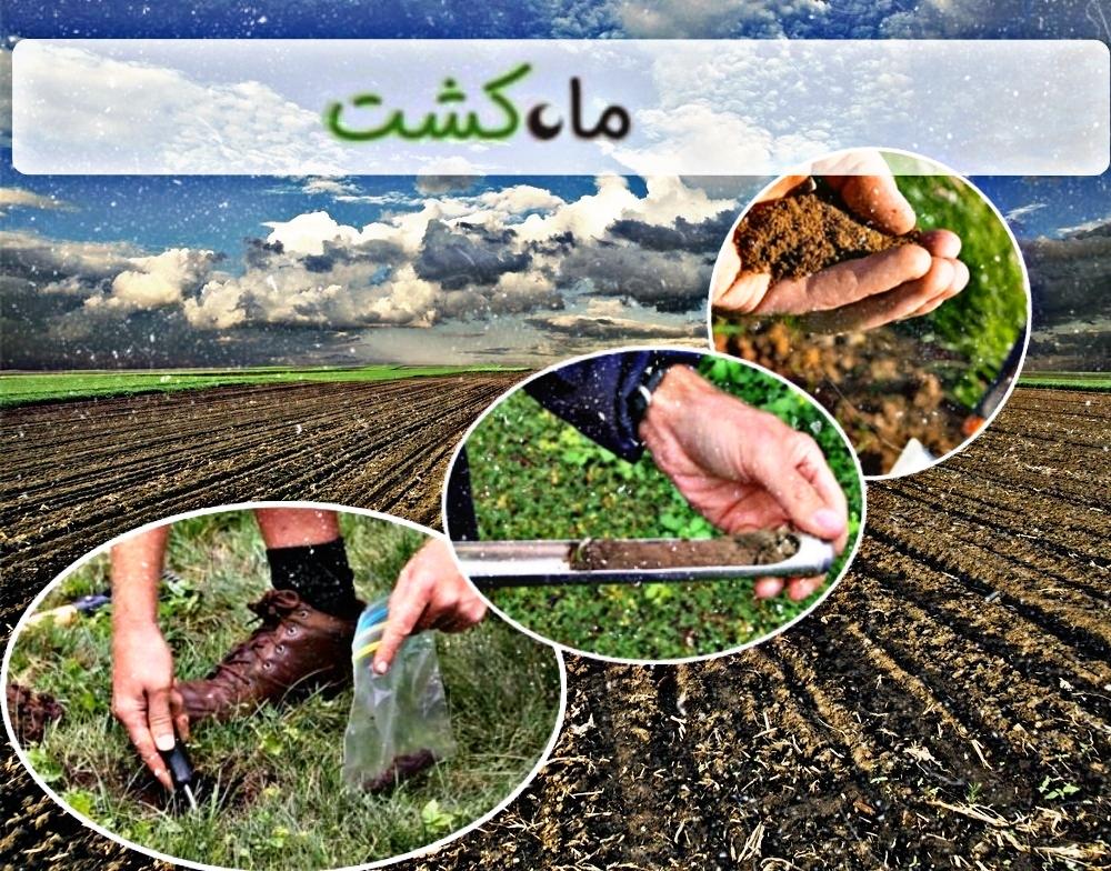 نمونه برداری برای آزمایش خاک در کشاورزی